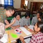 Dr. Yansen Marpaung memberikan pengarahan